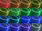 RGB Универсални ангелски очи autopro 100ММ с 33 SMD диода 9