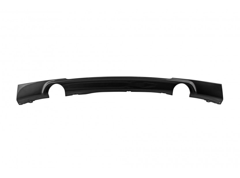 M Diffuser for M technik Bumper for BMW 3 series F30 after 2011 with double hole/single tip -o—o- 2
