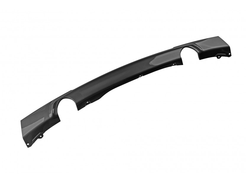 M Diffuser for M technik Bumper for BMW 3 series F30 after 2011 with double hole/single tip -o—o-