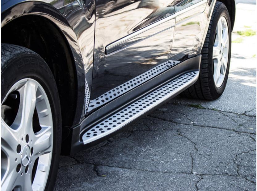 Aluminium Side Steps for Mercedes ML W164 2005-2011 3