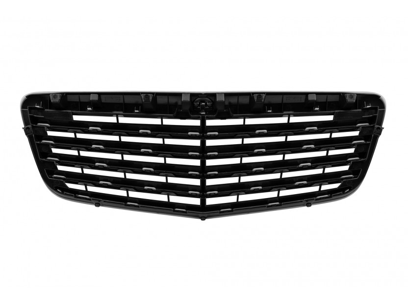 Black grille for Mercedes E class W211 2006-2009 3