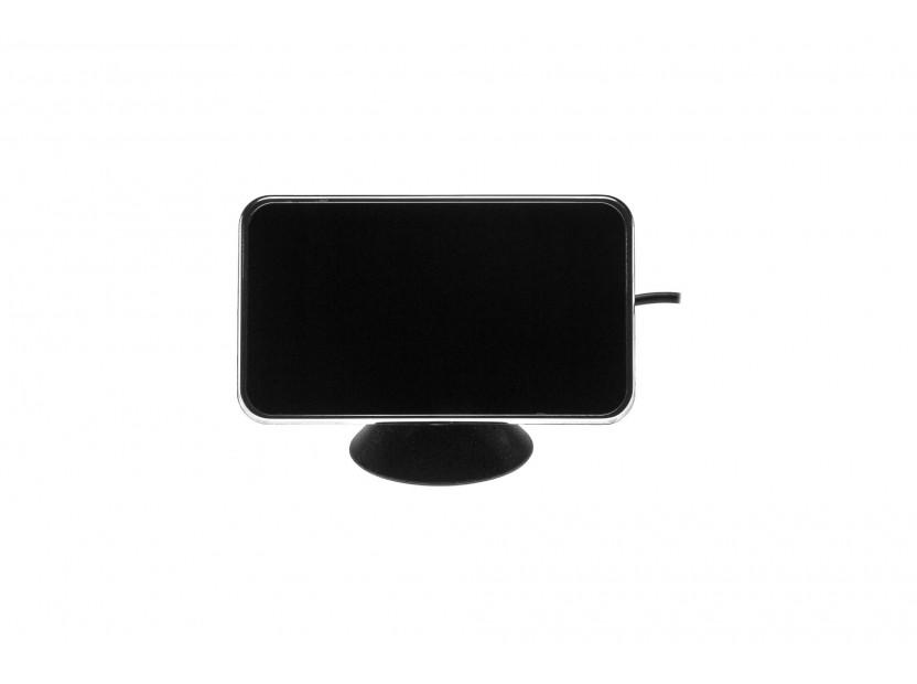 Парктроник система с 2,5 инча двоен LCD дисплей с 6 черни датчика 6