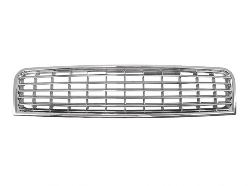 Chrome grille without emblem for Audi A4 2000-2004