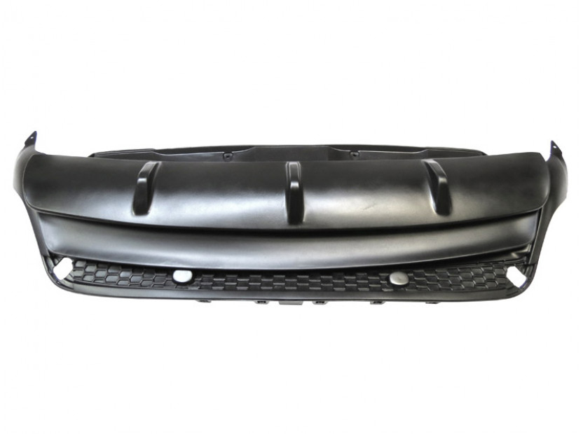 Diffuser M Performance Rear Bumper for BMW X6 E71 after 2008 4