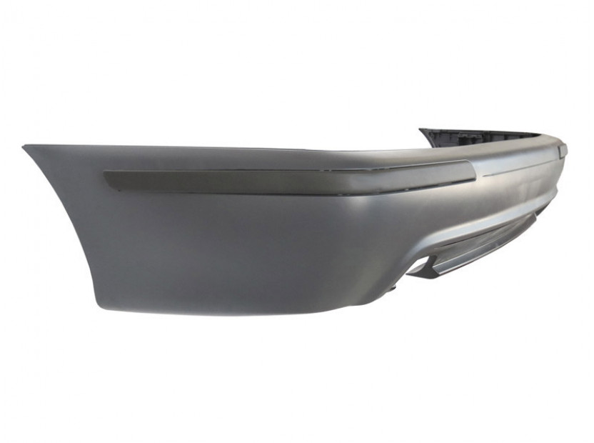 M Technik Rear Bumper for BMW 5 series E39 1995-2003 sedan without PDC/1 diffuser/2 tips -oo---- 4