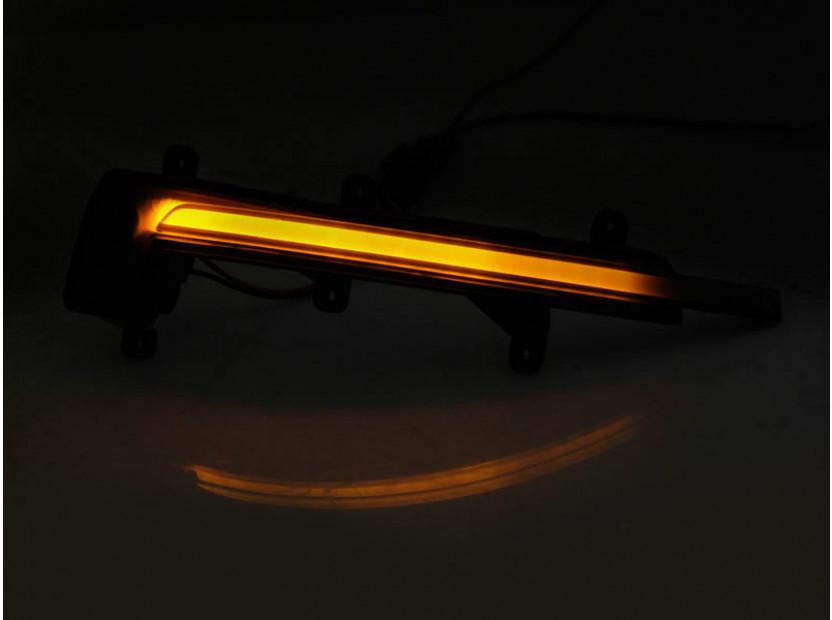 Тунинг LED мигачи за странични огледала на Audi TT, TTS, TTRS Coupe/Cabrio 2006-2014, R8 2007-2016 3