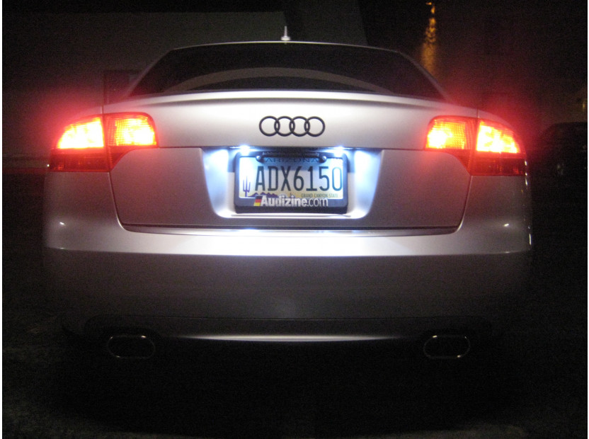LED License Plate Light for Audi A3/A4/A5/A6/Q7 8