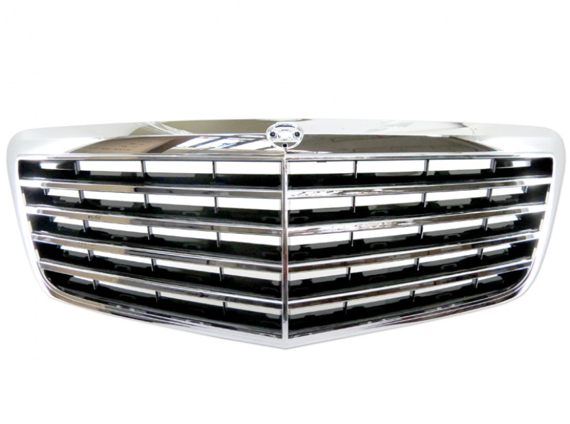 Avantgarde Chrome/Black grille for Mercedes E class W211 2006-2009 8