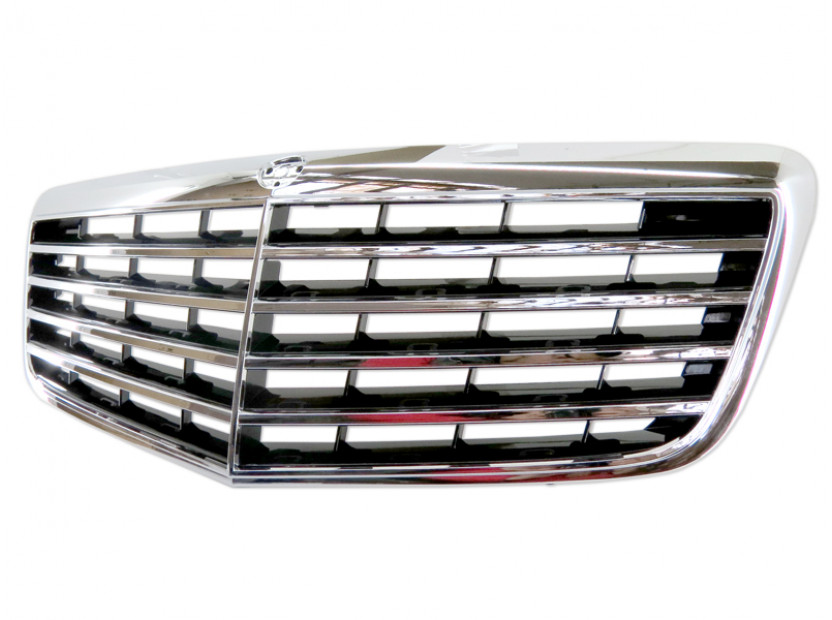 Avantgarde Chrome/Black grille for Mercedes E class W211 2006-2009 5