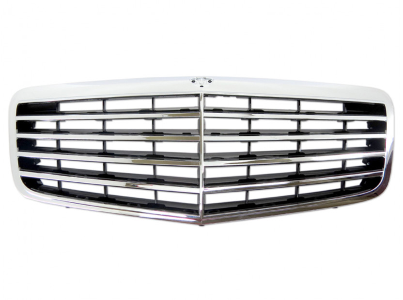 Avantgarde Chrome/Black grille for Mercedes E class W211 2006-2009