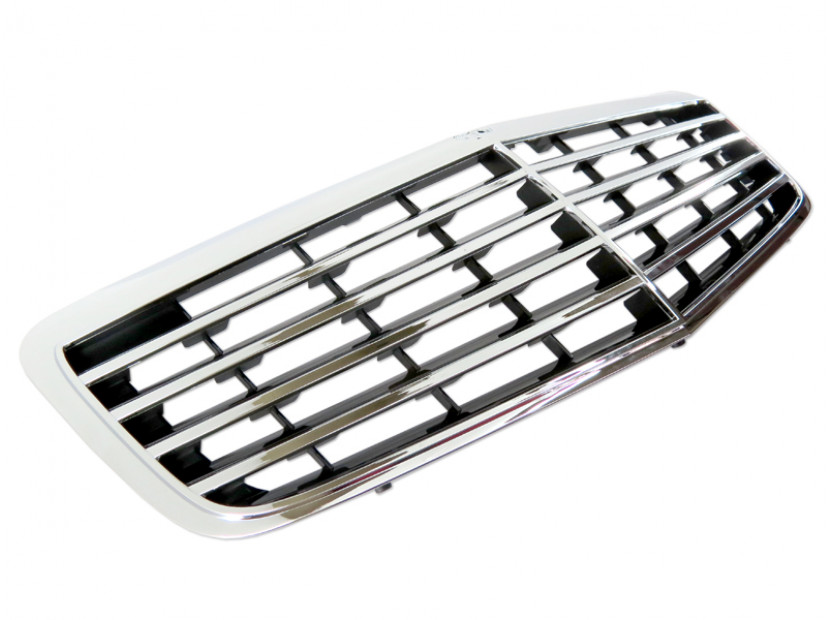 Avantgarde Chrome/Black grille for Mercedes E class W211 2006-2009 3
