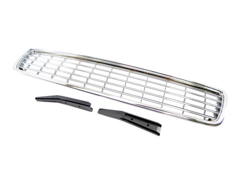 Chrome grille without emblem for Audi A4 1994-2000 7