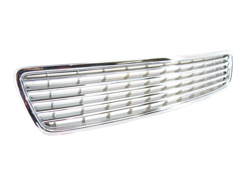 Chrome grille without emblem for Audi A4 1994-2000 6