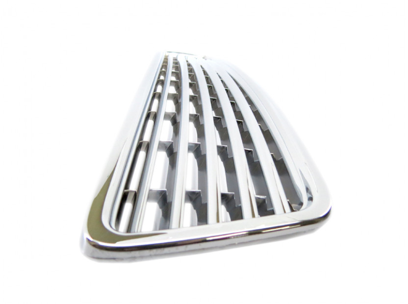 Chrome grille without emblem for Audi A4 1994-2000 8