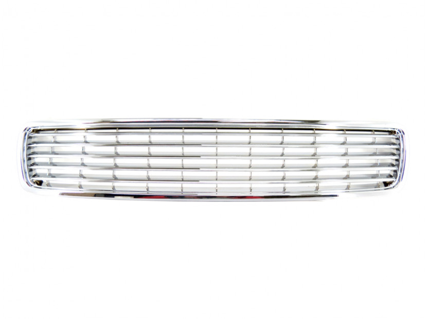 Chrome grille without emblem for Audi A4 1994-2000