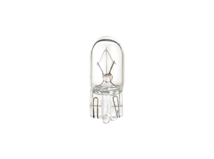 Halogen Light Bulb by Bosch W3W 12V, 3W, W2.1X9.5d, 1 piece