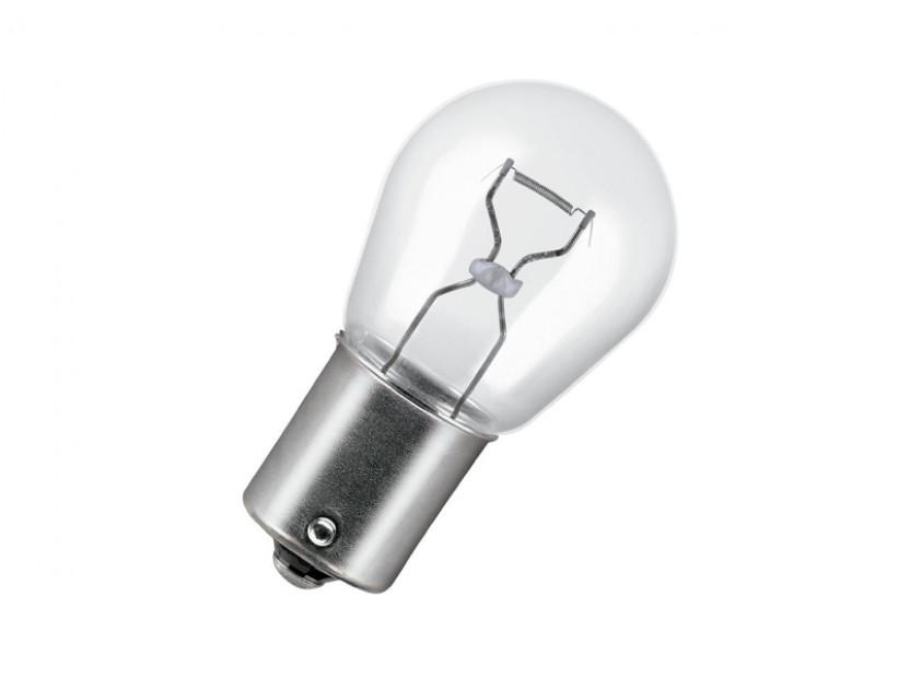 Halogen Light Bulb by Bosch P21W 12V, 21W, BA15s, 1 piece
