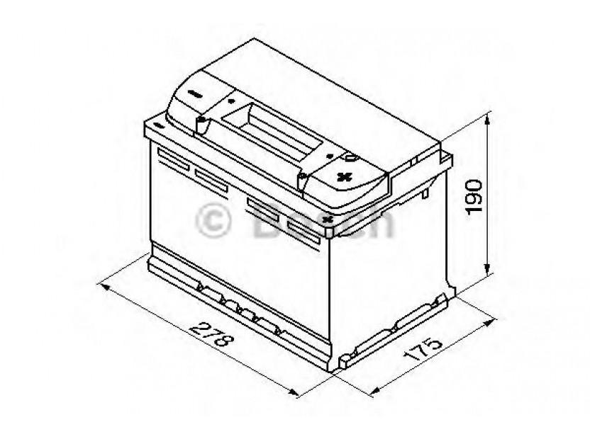 Акумулатор BOSCH Silver S4 12V 74Ah 680 A с десен (+) 2