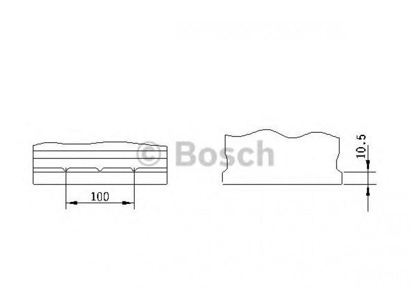 Акумулатор BOSCH Silver S4 12V 70Ah 630 A с десен (+) АЗИЯ 2