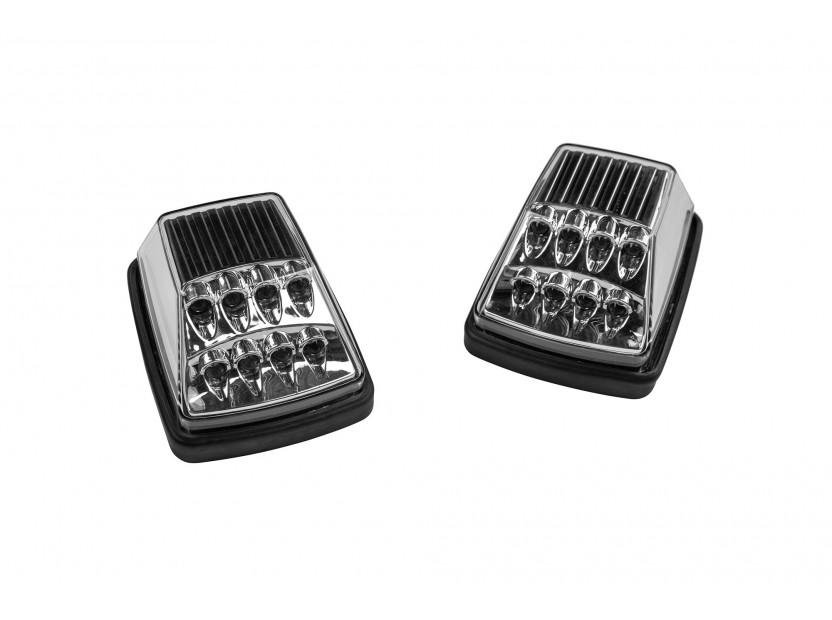 LED страничен мигачи за Mercedes G класа W463 1990-2012 година - хром основа 2