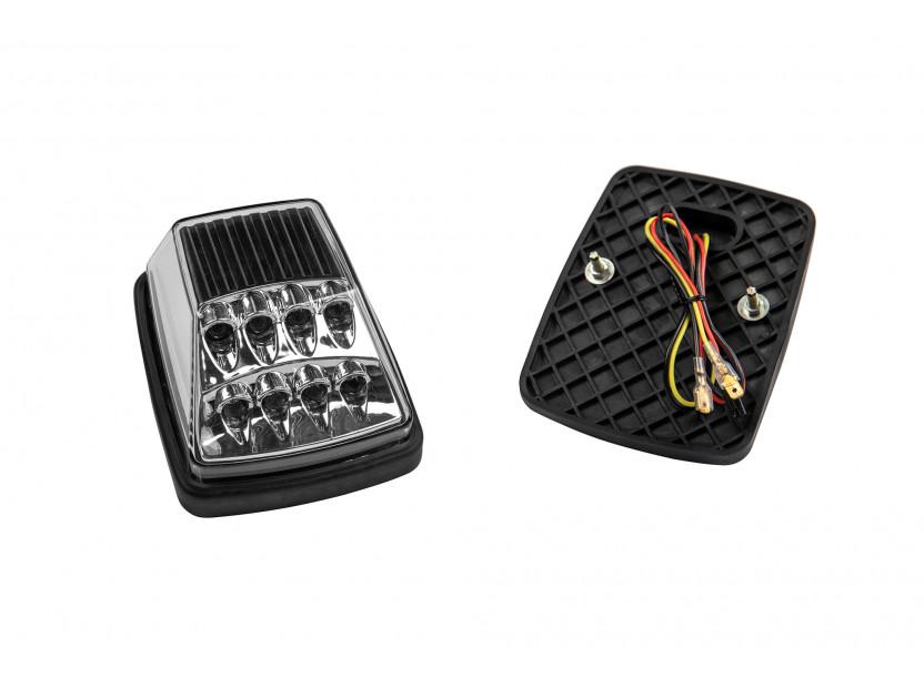 LED страничен мигачи за Mercedes G класа W463 1990-2012 година - хром основа