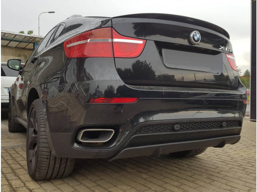 Diffuser M Performance Rear Bumper for BMW X6 E71 after 2008 10