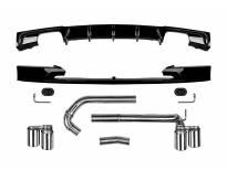 M3 Performance добавки с накрайници и дуфузьор за BMW серия 3 F30/F31 след 2011 година