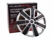 "AutoPro 15""Decorative Wheel Covers, 4 pieces"