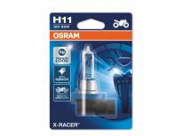 H11 Moto X-Racer Halogen Light Bulb by OSRAM, 12V, 55W, PGJ19-2, 1 piece