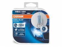 HB3 Cool Blue Intense Halogen Light Bulbs by OSRAM, 12V, 60W, P20d, 2 piece set