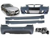 M technik bodykit for BMW 5 series E60 2007-2010 sedan