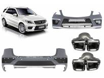 AMG bodykit type ML63 for Mercerdes ML W166 2012-2015