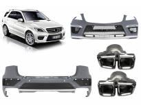 AMG bodykit type ML63 for Mercerdes ML W166 2012-2015