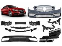 AMG bodykit type C63 for Mercedes C class W205 after 2014 year