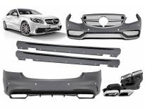 AMG bodykit type E63 for Mercedes E class W212 2014-2016