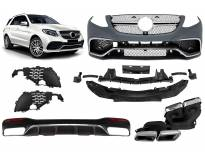 AMG bodykit type 63 for Mercedes GLE W166 after 2015 year