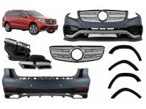 AMG bodykit type 63 for Mercedes GLS X166 after 2015 year