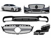 AMG bodykit type E63 for Mercedes E class W213 after 2016 year