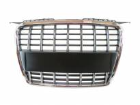 Chrome grille without emblem for Audi A3 2005-2008