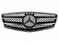 AMG Chrome/Black grille for Mercedes E class W212 after 2009
