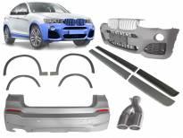 M technik bodykit for BMW X4 F26 after 2014 year