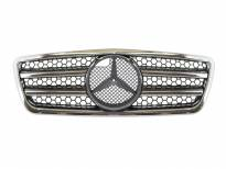 AMG Chrome/Black grille for Mercedes E class W210 1999-2001