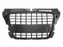 S8 Black lacquer grille for Audi A3 2009-2011 with PDC