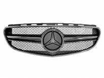 AMG Chrome/Black grille E63 type for Mercedes E class W212 2014-2015