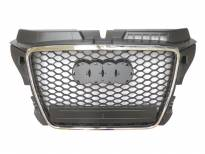 RS Chrome/Black grille for Audi A3 2009-2012 without PDC