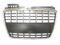 Chrome/Black grille without emblem for Audi A4 2004-2007
