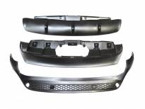 Diffuser M Performance Rear Bumper for BMW X6 E71 after 2008