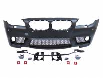 M5 Front Bumper for BMW 5 series F10 sedan/F11 station wagon 2011-2013 with PDC/with washer cover cap/halogens not included
