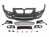 M technik Front Bumper for BMW 3 series E92 coupe/E93 cabrio 2006-2009 with PDC/with washer cover cap/halogens not included