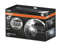 Universal LED Halo Headlights with Daytime Running Lights by OSRAM, 6000K, 12/24V, 7/12W